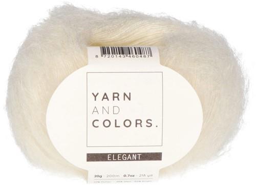 Bea Sweater Vest Knitting Kit 1 Cream XL