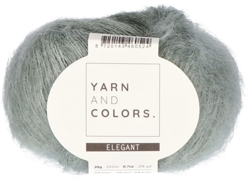 Bea Long Cardigan Without Sleeves Knitting Kit 3 Pea Green XXL