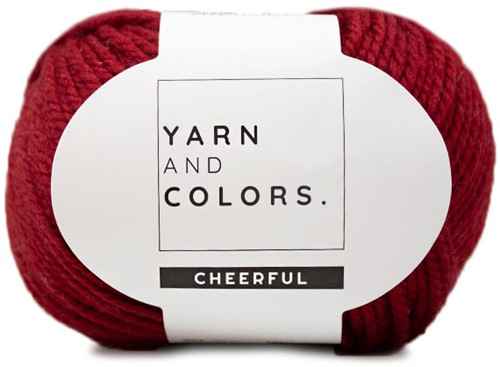 Yarn and Colors Chunky Cheerful Cowl Crochet Kit 1 Burgundy