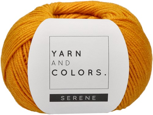 Yarn and Colors Criss Cross Dot Scarf Crochet Kit 015 Mustard