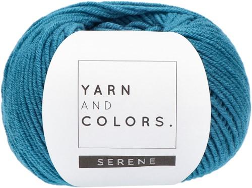 Yarn and Colors Criss Cross Dot Headband Crochet Kit 069 Petrol Blue