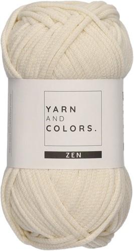 Yarn and Colors Tank Top Knitting Kit 1 Cream S