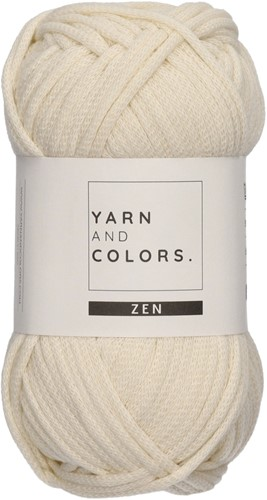Yarn and Colors Tank Top Knitting Kit 1 Cream XL