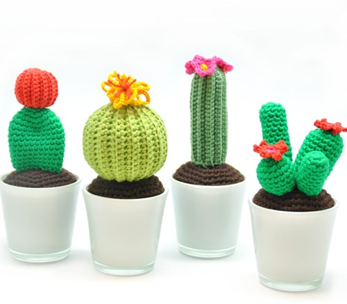 Crochet pattern Cactus