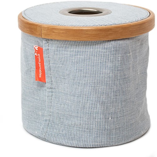 Wool-Dispenser Foldable Canvas and Bamboo S Blue