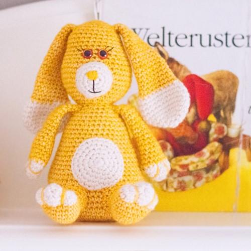 Charming Bunny Crochet Kit