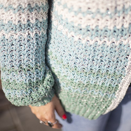 Chasing Sunsets Clothing CAL Crochet Kit 2 S/M