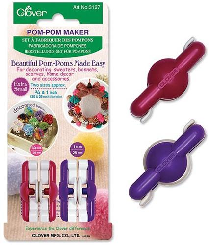Clover Pompom Maker XS