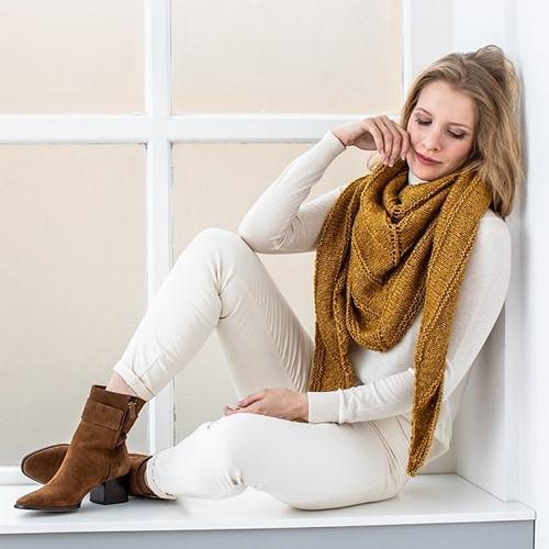 Knitting Pattern Cosy Wool Scarf