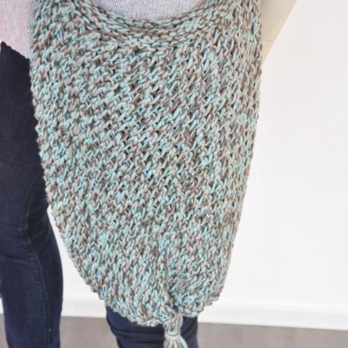 Knitting pattern Cotone shopper