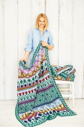 Letitia's Garden Blanket CAL Yarn Kit 3 Country Garden M