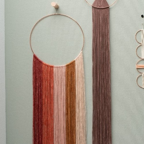 Yarn and Colors Degrade WOW! Wall Hanging Kit 023