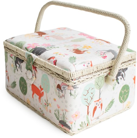 Sewing Basket Woodland M 2nd Edition
