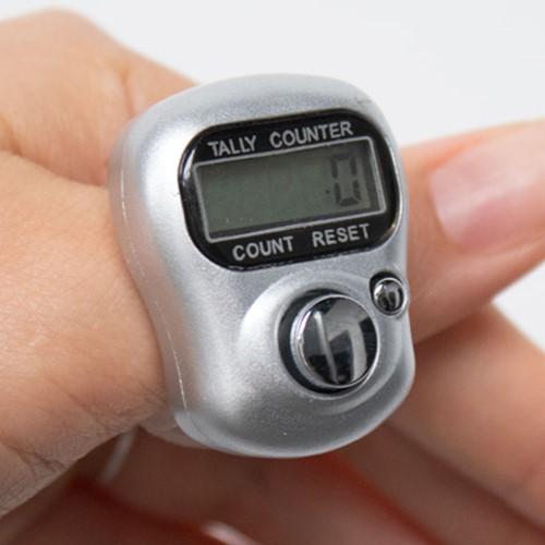 Digital Row Counter Silver