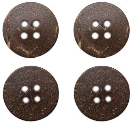 Drops Button Coconut 15 mm