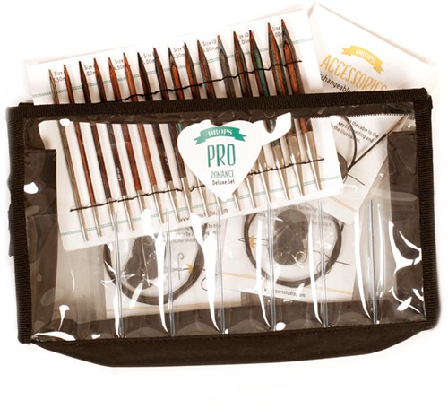 Drops Pro Romance Deluxe Circular Knitting Needle Set