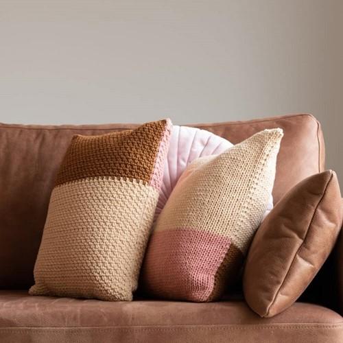 Yarn and Colors Fab Cushion Knitting Kit