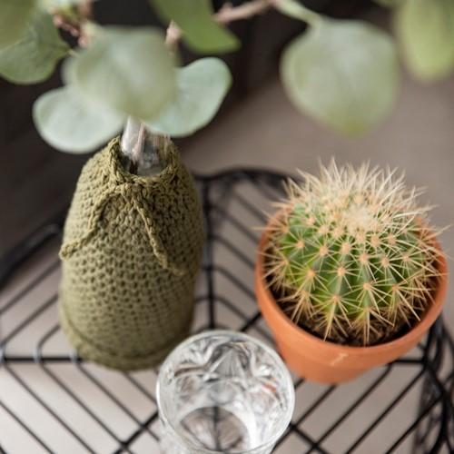 Home-Deco Bottle Cover Crochet Kit 3 Industrial