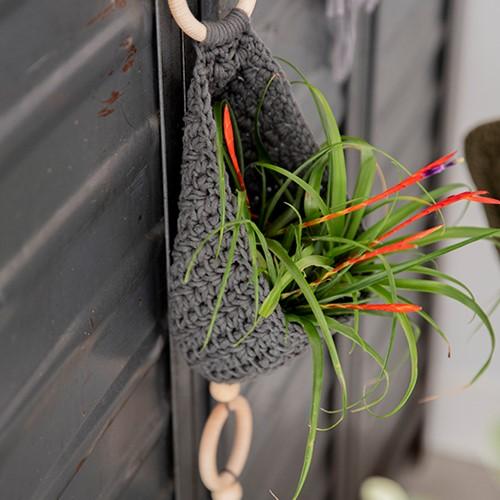 Home-Deco Plant Hanger Crochet Kit 3 Industrial