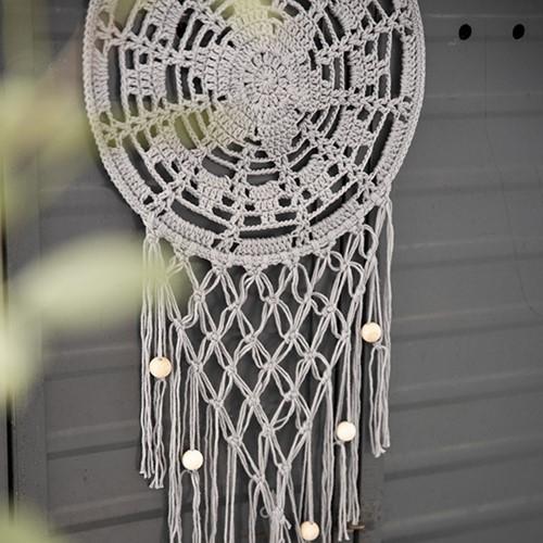 Home-Deco Dream Catcher Crochet Kit 3 Industrial