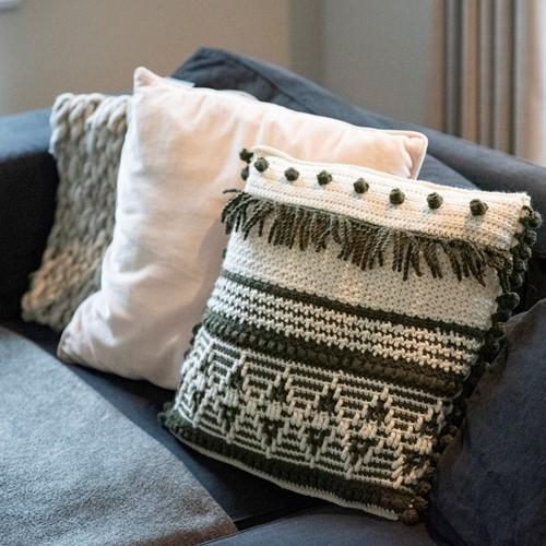 Crochet Pattern Reversible Dream Cushion 3.0 Square 40x40cm