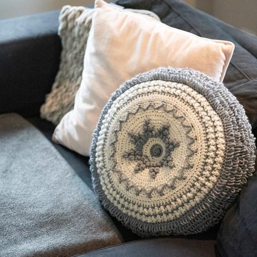 Crochet Pattern Reversible Dream Cushion 3.0 Round