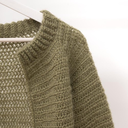 Crochet Pattern Elegant Afternoon Tea Cardigan