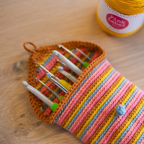 Crochet Pattern Mixed Up Crochet Hook Case