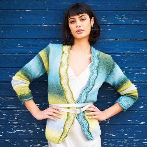 Knitting Pattern Stylecraft Cabaret DK No. F096 Cardigan