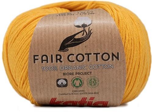 Fair Cotton Bolero Crochet Kit 1 46/48 Yellow