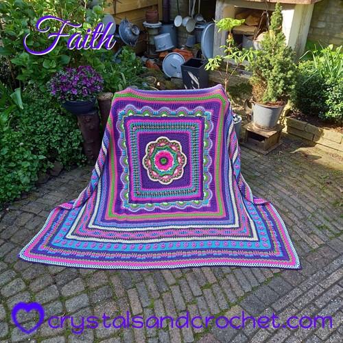 Faith Blanket CAL Yarn Kit 1 Confidence Special DK