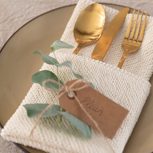 Yarn and Colors Favorite Napkins Knitting Kit