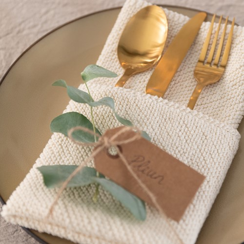 Knitting Pattern Yarn and Colors Favorite Napkins