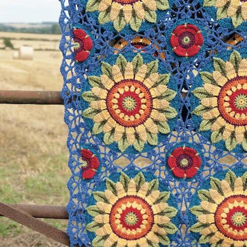 Fields of Gold Blanket Crochet Kit