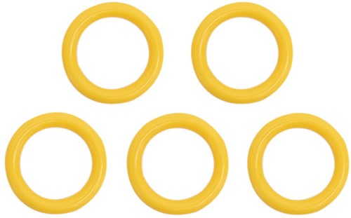 Durable Plastic Rings 40mm 5 pieces 645