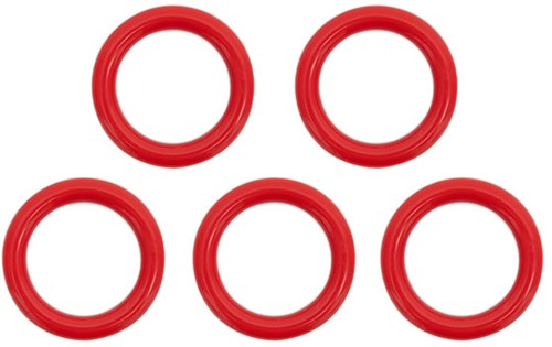 Durable Plastic Rings 40mm 5 pieces 722