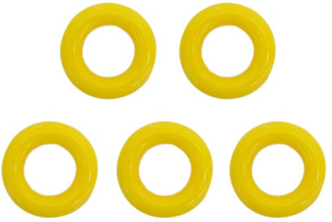 Durable Plastic Rings 25mm 5 pieces 645