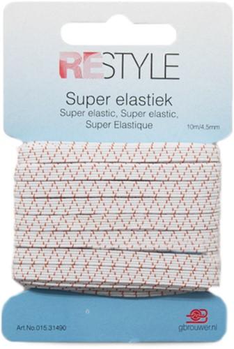 Restyle Standard Elastic 10/4,5mm white