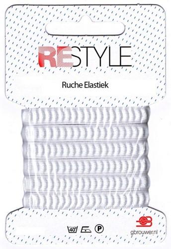 Restyle Shirring Elastic 2m/10mm White