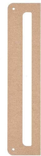Durable MDF Wall Hanger 25x5cm