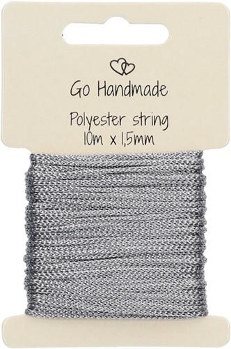 Go Handmade Polyester String 3 Grey