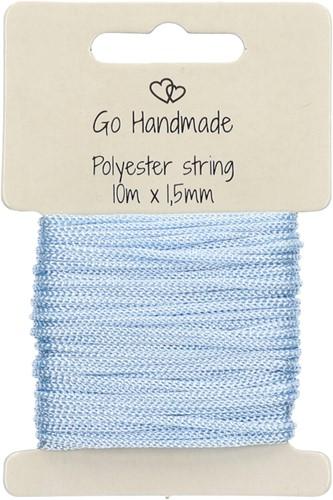 Go Handmade Polyester String 5 Blue
