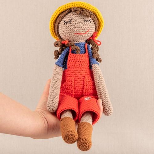 Yarn and Colors Freddy/Francine Farmer Crochet Kit 005 Clay