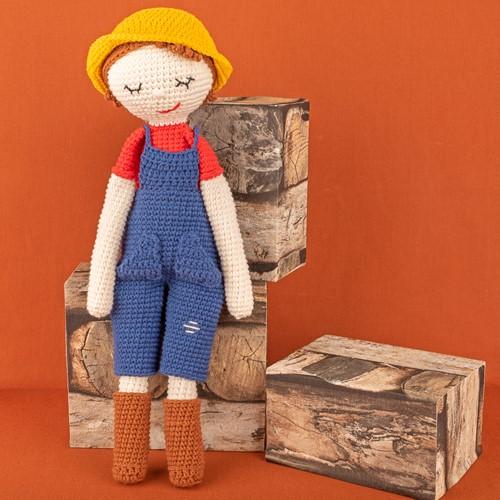 Yarn and Colors Freddy/Francine Farmer Crochet Kit 002 Cream