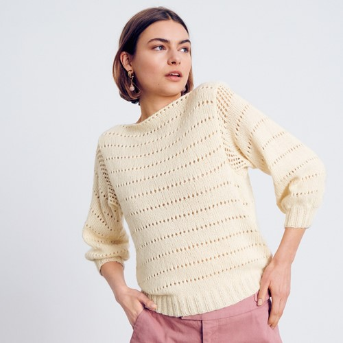 Ecopuno Romantic Summer Sweater Knitting Kit 36/38