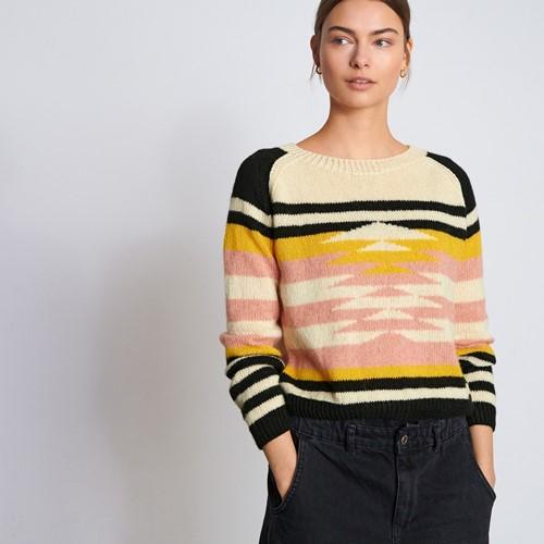 Ecopuno Graphic Raglan Sweater Knitting Kit