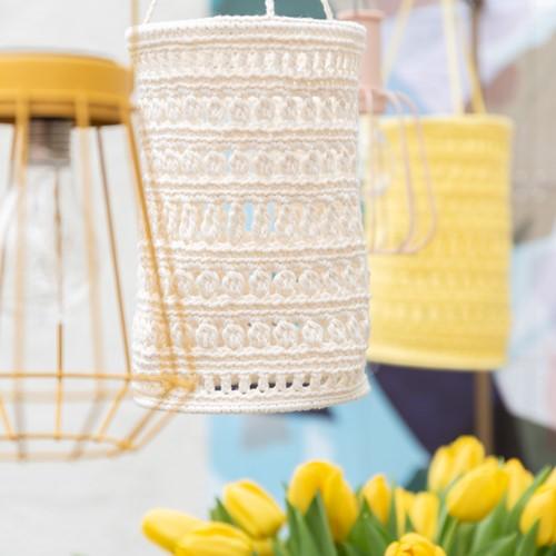Yarn and Colors Garden Party Lantern Crochet Kit