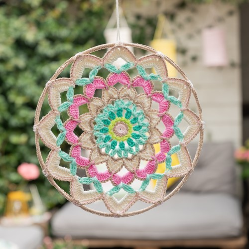 Yarn and Colors Garden Party Mandala Crochet Kit