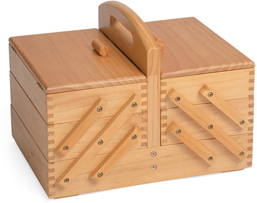 Sewing Box Wood Cantilever S
