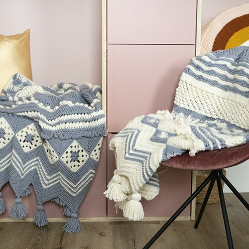 Knitting Pattern Dream Blanket 4.0 KAL